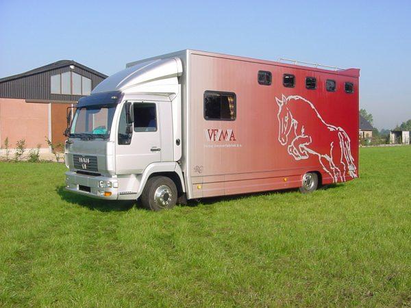 Referenties - MAN L2000 5 paards 2