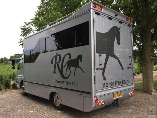 Referenties - Mercedes Atego 4 paards