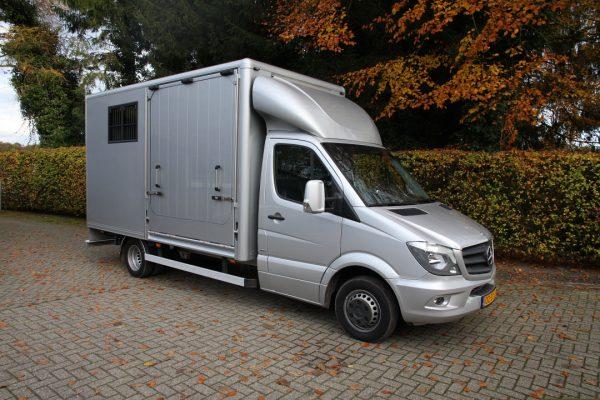 Referenties - Mercedes Sprinter 2 paards