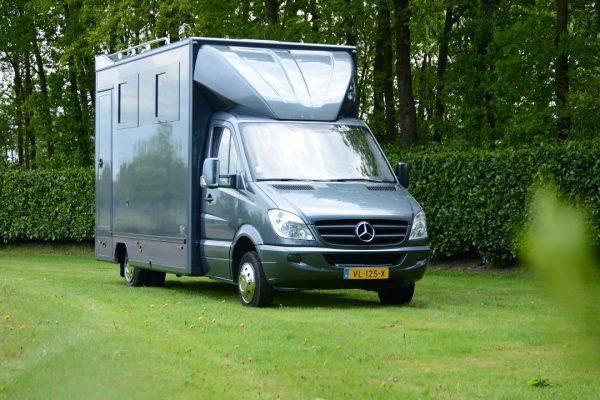 Referenties - Mercedes Sprinter 3 paards