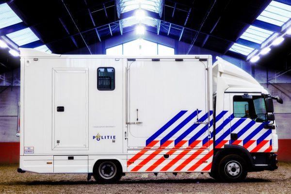 Referenties - Politie 3 paards